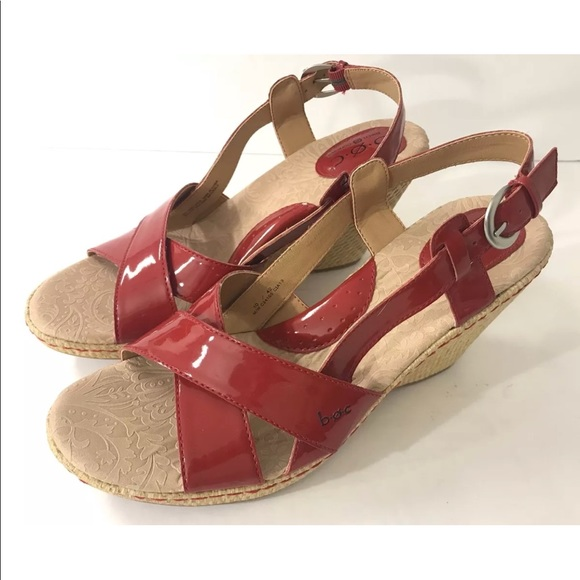6fe5101ae01ce Born Shoes - Born Boc red patent leather heels women s 10 42